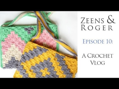 Zeens and Roger Crochet Podcast 10. It's a biggy and there's a Giveaway!!