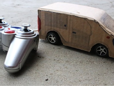 Amazing DIY RC Car from Cardboard at home