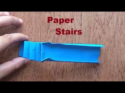 Amazing Paper Stairs Making at Home | How to make paper stairs