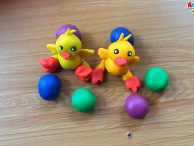 Clay art for kids | How to make duck with clay | Art for kids