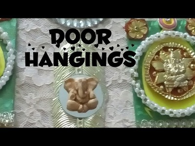 D.i.y how to make soan.door hangings for home decor on diwali decorations 2017