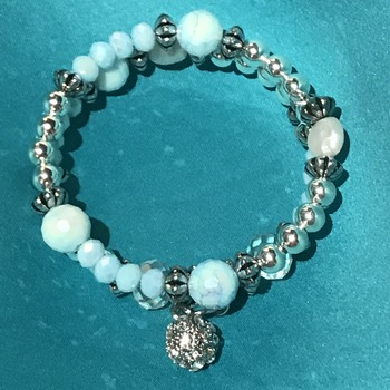Dainty wrap bracelet