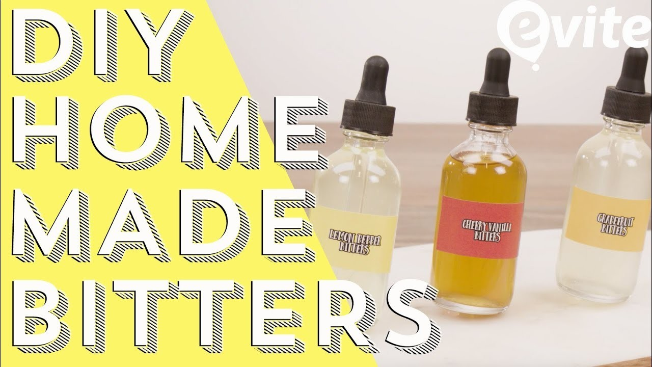 DIY Bitters | How To Make Your Own Bitters For Cocktails [Evite]