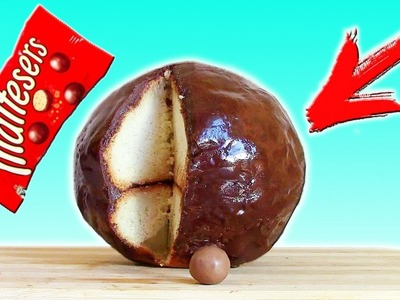 DIY - Giant Chocolate Bowl Maltesers. How to make it at home?