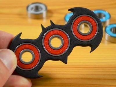 DIY How to Make Fidget Spinner at Home || Hack Room