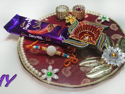 DIY : how to make handmade pooja thali at home | Best out of waste Art With Creation
