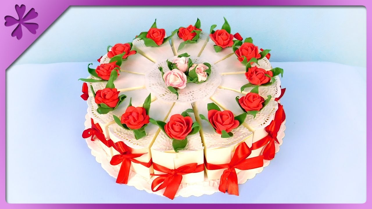 DIY How to make paper cake, for wedding, birthday ...