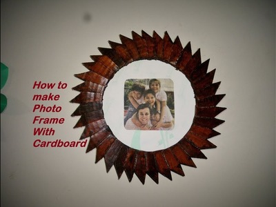 DIY : How to make Photo Frame at home | With Cardboard Photo Frame |