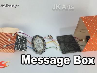 DIY Photos and Message Box | How to make | Gift Idea | JK Arts 1242