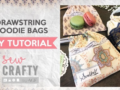 DIY Wedding Favors - How to make a Lace Drawstring Goodie Bag