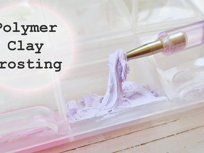 How I Make Polymer Clay Frosting and Icing || Maive Ferrando