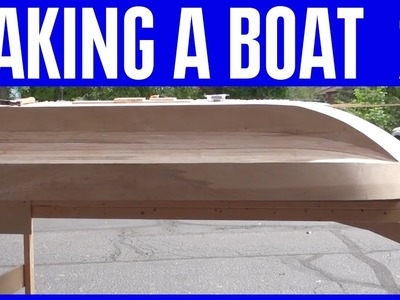 How to Build a Wooden Boat 20 - Marine Epoxy Delivery for Waterproofing the Hull