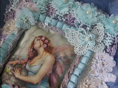 How To Create Fairy Magic Wall Hanging Tutorial KS4U DT (SOLD)