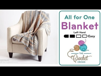 How to Crochet A Granny Blanket: Rectangle