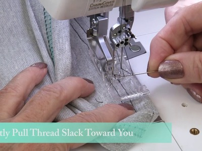 How to Finish a Coverstitch in the Round : Coverstitch Hems and Necklines