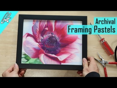 How to Frame Pastels like a Pro