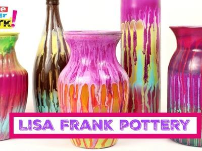 How to: Lisa Frank Pottery