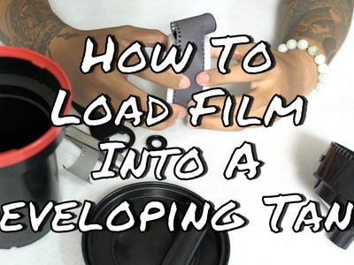How to load film into a Developing Tank - Paterson Film Developing Tank