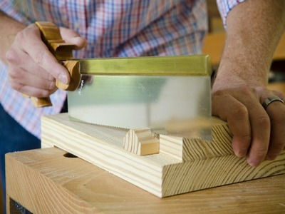 How to Make a Bench Hook for Hand Saw Cross Cutting