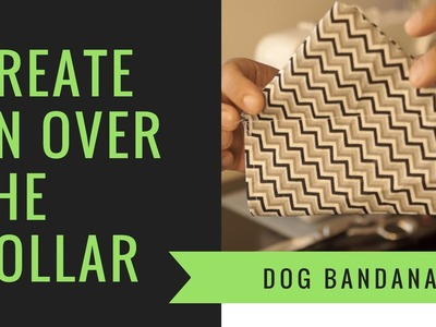 How to Make a DIY Over the Collar Bandana for your Small Dog