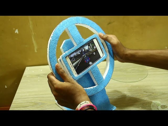 How to Make a Gaming Steering Wheel - Android life hacks