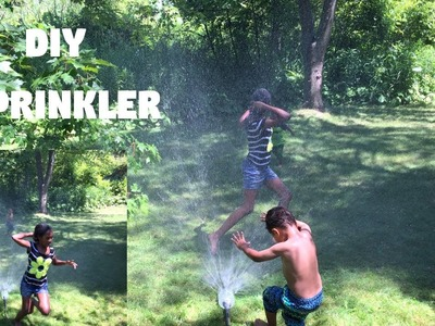 How To Make A Homemade Water Sprinkler With A 2 Liter Bottle: DIY For Kids