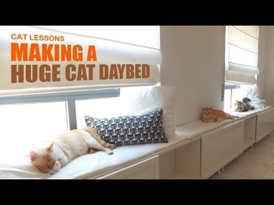 How to Make a Huge Cat Daybed