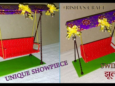 How to Make a Jhula or Swing.Best DIY for Unique Showpiece