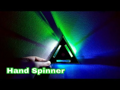 How To Make A LED Hand Spinner - Fidget Toy