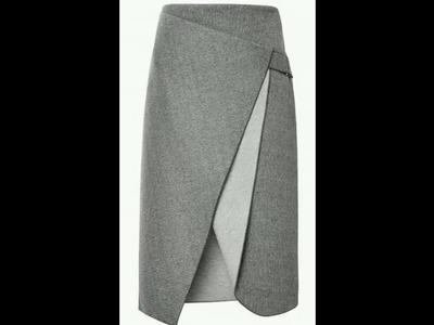 How To Make A Office Skirt | Pencil Skirt Designs | DIY