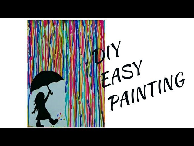 How to make a painting for beginners.easy painting ideas for beginners