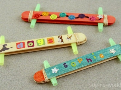 How to Make a Popsicle Stick Kazoo   Sophie's World