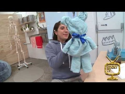How to make a Towel-gami Teddy Bear!