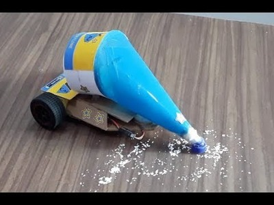 How to make a vacuum cleaner RC