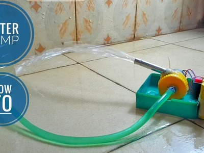 How to Make a Water Pump at home