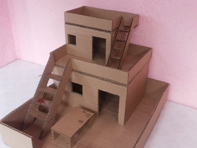 How to make Amazing House from Cardboard