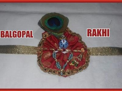 HOW TO MAKE BALGOPAL RAKHI AT HOME. RAKSHA BANDHAN SPECIAL – SS ART CREATIONS