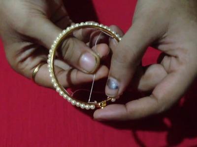 How to make beads bangles making in Marathi