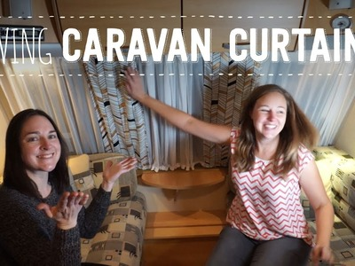 How to make caravan curtains