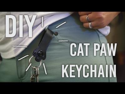 How to Make - Cat Paw Keychain : DIY