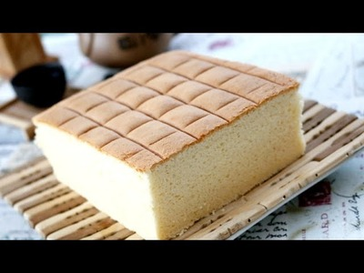 How To Make Cotton Soft Sponge Cake | Fluffy Butter Cake Recipe