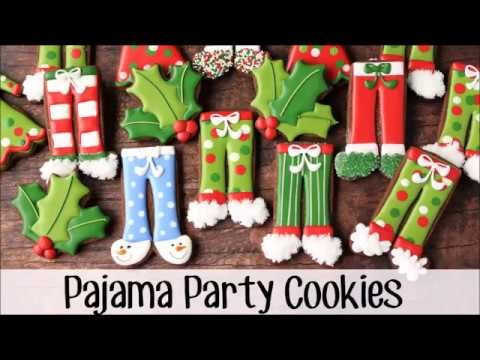 How to Make Decorated Pajama Party Cookies