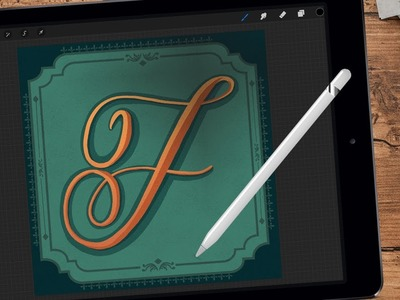 How to Make Decorative Frames in Procreate