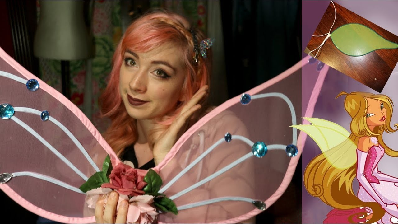How to Make Fairy Wings (updated)