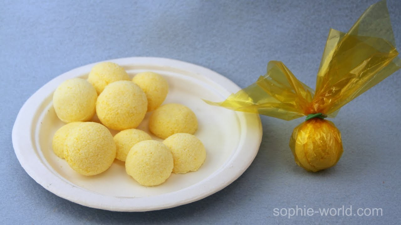 """How to Make Fizzy Mini Bath """"Bombs"""" 