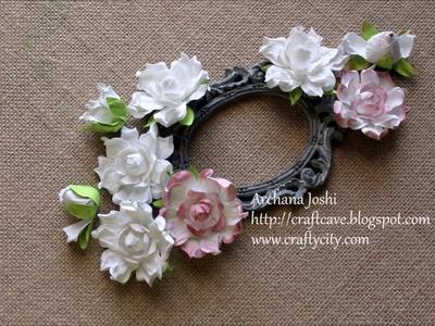 How to Make Gardenia Flowers by Archana Joshi (Follow The Flower Friday)