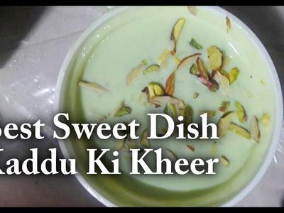How To Make Kaddu Ki Kheer Recipe   Kaddu ki kheer   Best Sweet dish   Hydarabadi special dish