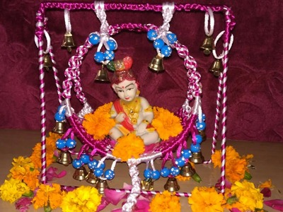 How to make macrame krishna jhula step by step full video.