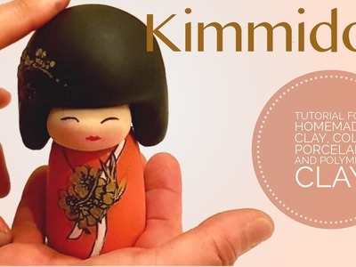 How to make maxi Kimmidoll inspired  with Homemade Clay