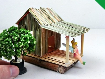How to make Miniature Fairy House #16 | Easy and Quick Fairy Garden project
